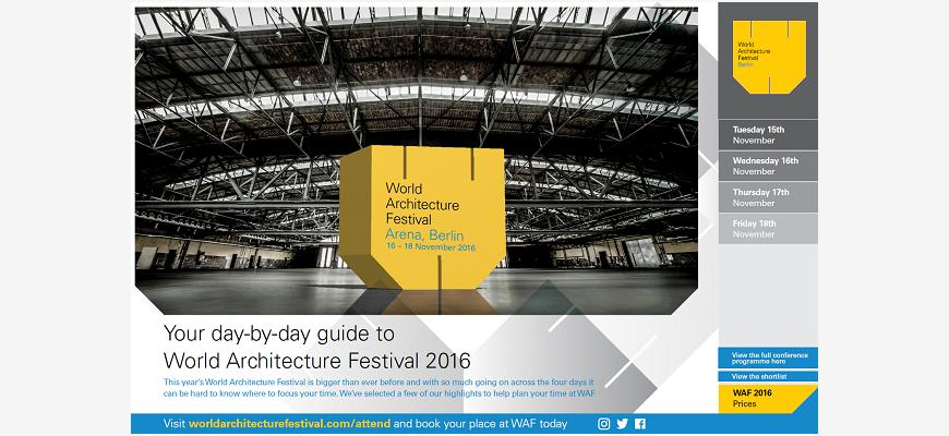WAF 2016 day-by-day guide