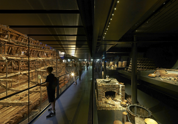 Perkins+Will, Mary Rose Museum, Portsmouth, United Kingdom